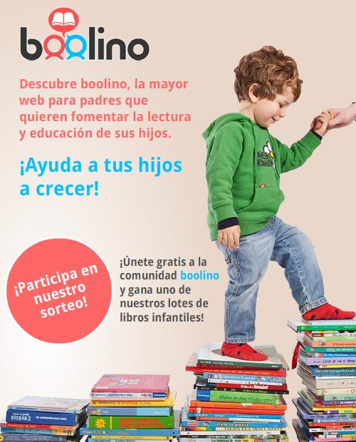 Sorteo de libros infantiles en Boolino.com